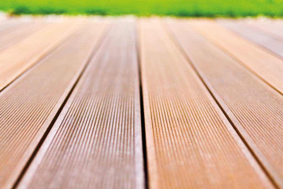 Terrassen Schutz für Holzterrassen