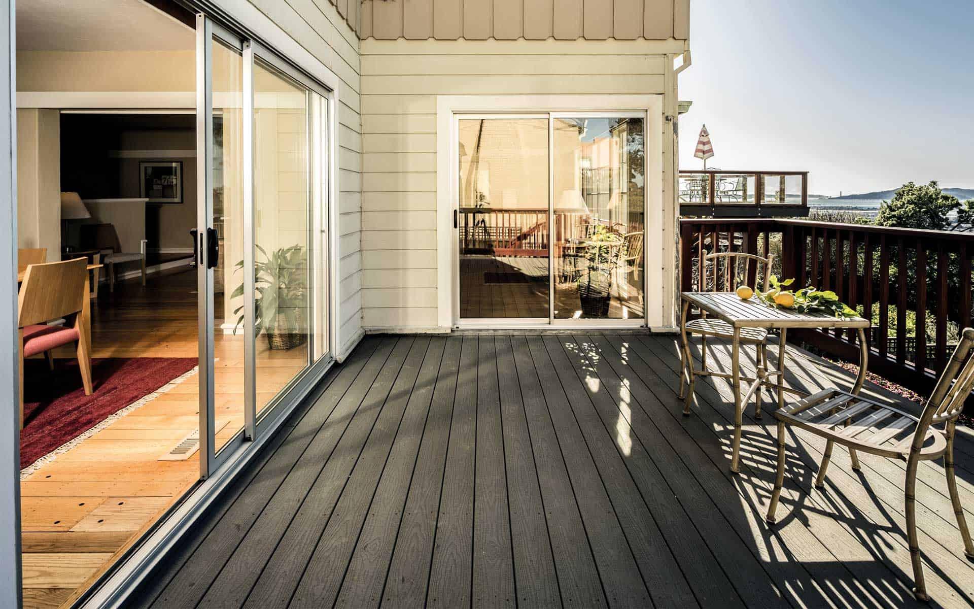 Holzschutz für Terrassen